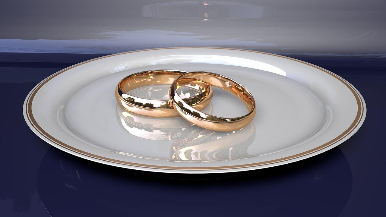 טבעות נישואין זהב לבן – מחירים