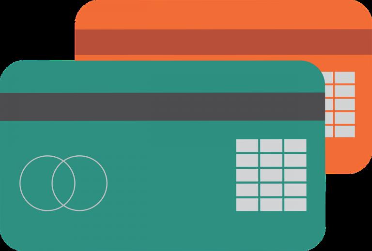 צד האחורי של כרטיס האשראי