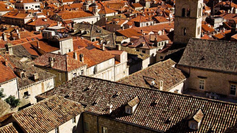 גגות של בניינים